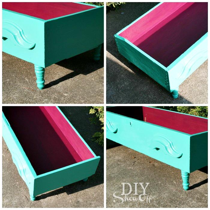 painted-dresser-drawer-dog-bed