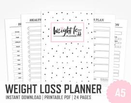 weightloss planner