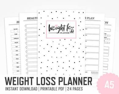 weightloss planner